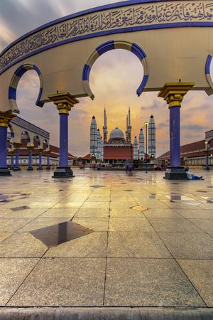 Sunset at Masjid Agung Jawa Tengah