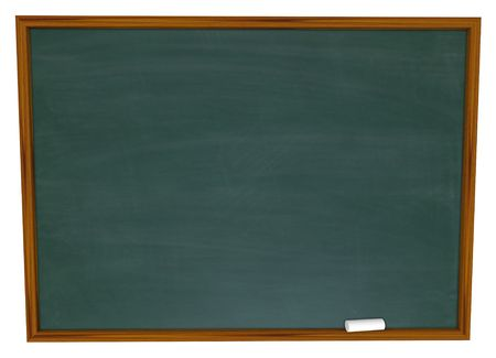 Put Your Own Text on this Empty Chalkboard Stock Photo - 4718549