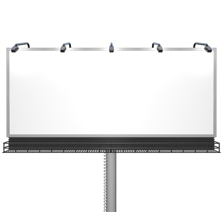 Empty billboard  Stock Photo - 10015107