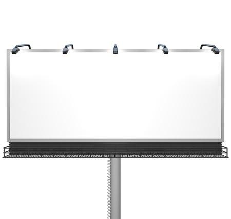 sponsorship: Empty billboard