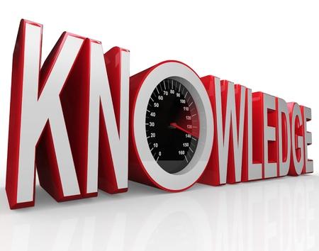 その学習と情報の収集という事実を象徴するそれのスピード メーターと単語知識力と成功を駆動します。