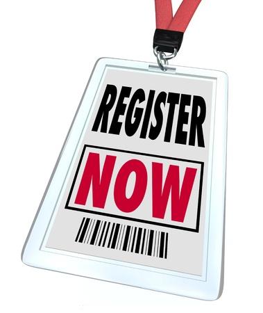 バッジおよび印刷パス登録今読んで、サインアップまたは購読、イベントまたはサブスクリプション製品に特別なアクセスのために人々 の緊急の呼
