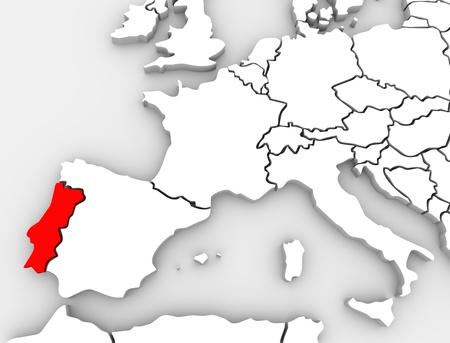 Europe Map Quiz ProProfs Quiz - Portugal map quiz