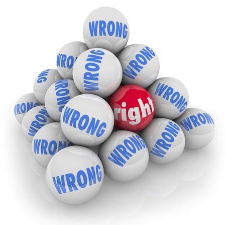optionnel: Une pyramide de boules avec une droite marqu�e et d'autres avec mauvais mot pour symboliser la cueillette ou de choisir le meilleur choix ou le choix parmi de nombreuses options