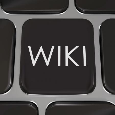 ユーザーが編集したり、彼らの専門知識を有する被験者の情報のエントリを書き込むのウェブサイトまたはインターネット ページを説明するために