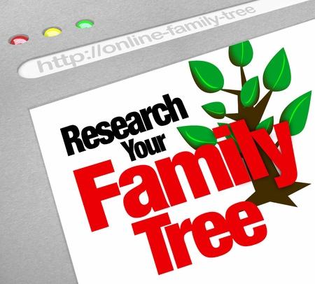 Una base de datos en línea para la investigación de su árbol genealógico y el patrimonio en una biblioteca virtual de documentos históricos Foto de archivo - 20622198