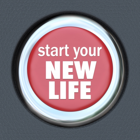 better: A green car ignition button with the words Re-Start Economy on it