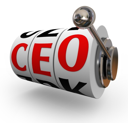 Searching for a good quality chief executive officer or CEO can be like pulling a handle on a slot machine, if the wheels line up you get lucky and land an excellent leader photo