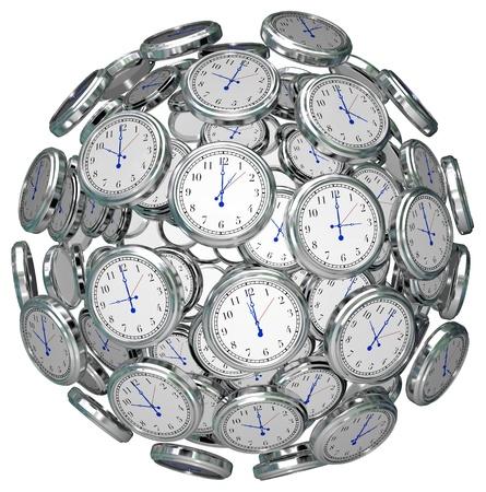구 시계 스톡 콘텐츠