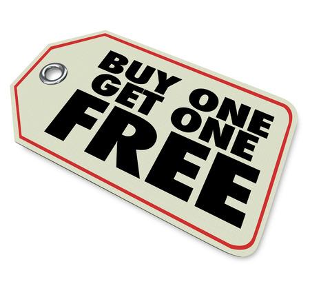 購入する 1 つを得る 1 つ無料、特別割引やクリアランス セールぼご族プロモーションや貯蓄商品やサービスに関する広告を説明するために言葉との
