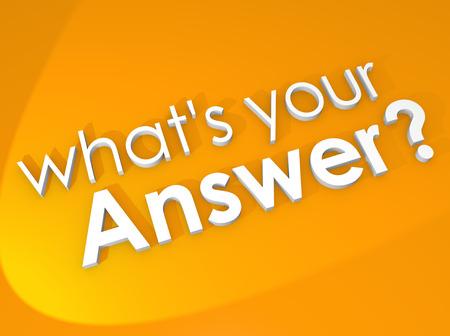 무엇 테스트, 설문 조사, 퀴즈 등 평가 또는 평가에 대한 회신, 주석, 검토, 의견이나 피드백을 요청 응답 3D 단어입니다