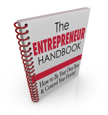 handbook: The Entrepreneur Handbook to illustrate skills