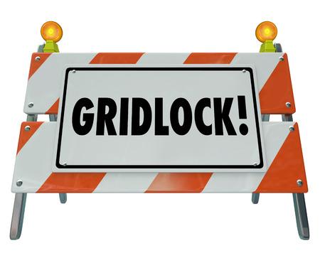 記号交通渋滞、道路建設バリケードまたは停止、閉塞、課題を説明するためにバリアとしてデッド ・ エンドやその動きを警告をやめました