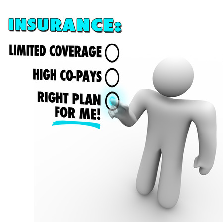 care providers: Insurance choices before a man voting for the right plan for you versus limited coverage and high copays offered by other health care companies