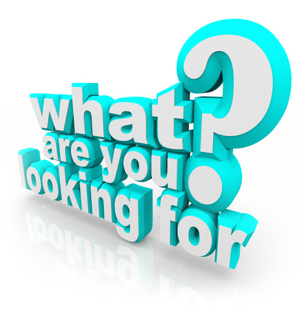 Co hledáte pro otázku zeptat svého poslání, cíle, úkoly nebo cíl při hledání za něco, co chcete nebo potřebujete Reklamní fotografie