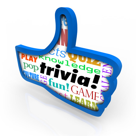 Pop mot de culture Trivia jeu en jouant avec des amis pour la connaissance de la culture pop et de gagner la compétition Banque d'images - 29990606