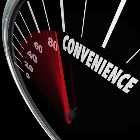 Convenience word on speedometer and needle racing as response time and user freindly service is improved or increased