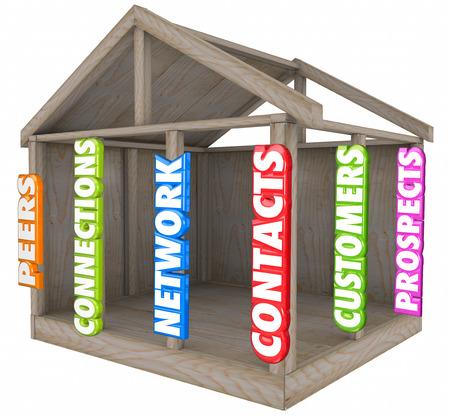 peer to peer: Contactos, conexiones de red y clientes palabras como registros de una base de datos o sistema de gestión de clientes que mantiene o administra los registros