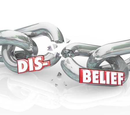 follower: Become Independent red 3d words on chains breaking to illustrate gaining freedom and becoming self reliant to control your own destiny
