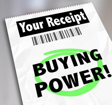 tomar prestado: La compra de palabras de la energ�a en su recibo de compra o compras en una tienda en la que guard� el dinero y tiene un gran negocio, de ahorro o descuento para su efectivo