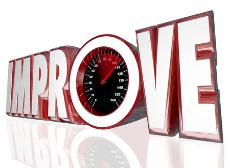 exceeding: Mejorar palabra en letras 3d y un veloc�metro para medir su mayor rendimiento o mejores resultados
