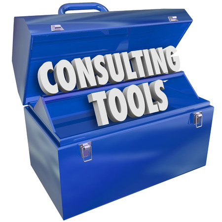 contracted: Consulting Tools toolbox of skills, experience, professional support and advice to offer businesses or companies needing service or guidance
