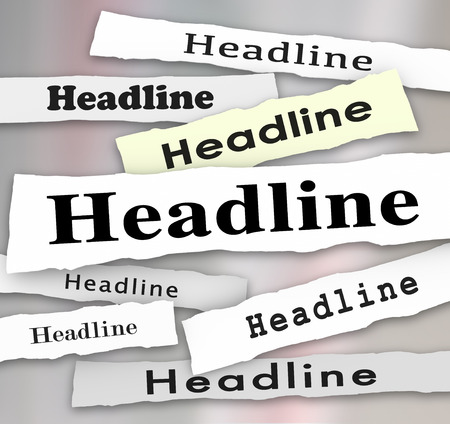 pay attention: Listen Closely words on a ripped newspaper headline and other news alerts like take notice, vital info, importance of being a good listener and pay attention