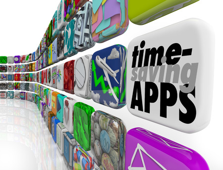 downloadable: Time Saving Apps as applications or software programs to save you effort and increase productivity and efficiency in your work or life