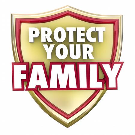 家や住宅の安全性、セキュリティおよび保護を説明するために金盾にお言葉を保護します。