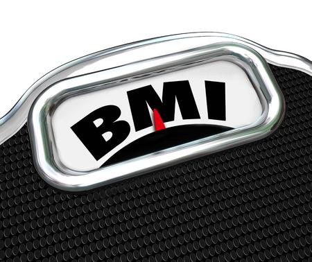 evaluacion: IMC acrónimo de medición de índice de masa corporal en una escala para evaluar o probar su nivel de condición física