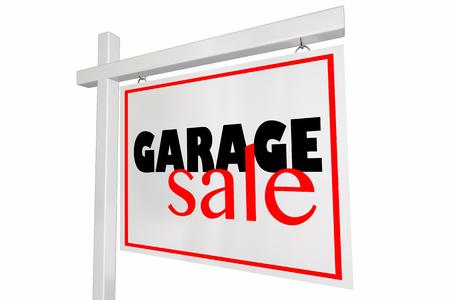 rummage: Gargae Sale Rummage Event Home Sign Advertising