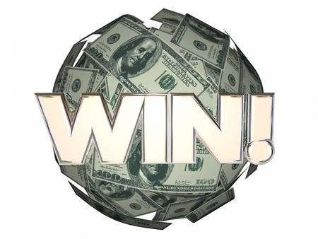 win money: Win Money Cash Ball Sphere Lottery Luck