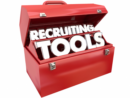 Finden Recruiting Tools Ressourcen Workers Mitarbeiter Job Toolbox