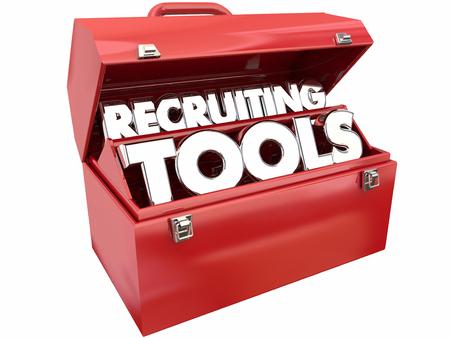 empleados trabajando: Herramientas de reclutamiento de Recursos encontrar trabajadores empleados Ofertas de trabajo Caja de herramientas