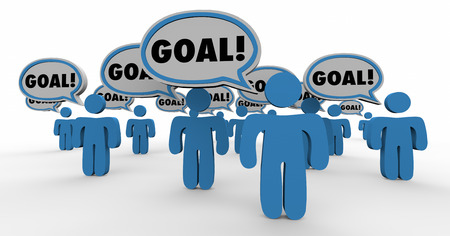 common vision: Goal Shared Mission Objective Team People Working Together 4K