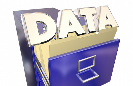 cataloged: Data Storage Information Access Retireval File Cabinet