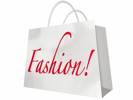 designer bag: Fashion Word Shopping Bag Style Store Sale