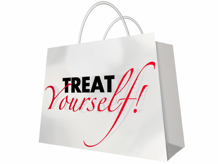 top animated: Treat Yourself Shopping Bag Lush Luxury Sale