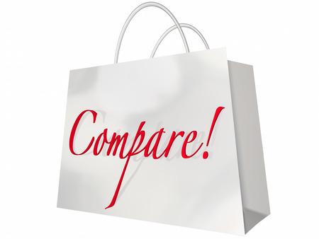 Compare Shop Best Deal Lowest Price Stores Comparison Bag