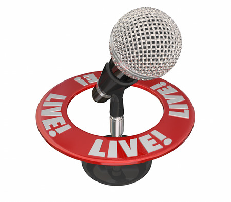 news current events: Live Word Microphone Urgent News Report Update Announcement
