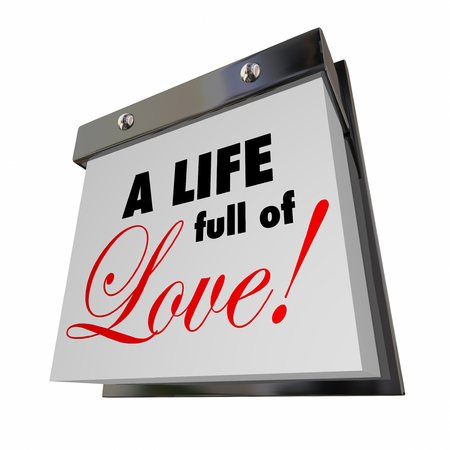 fulfilling: A Life Full of Love Date Days Years Romance Passion Words