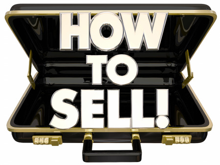 persuading: How to Sell 3d Words Briefcase Learn Sales Advice Tips
