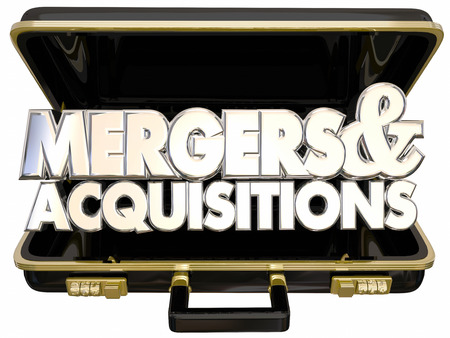 mergers: Mergers and Acquisitions Briefcase Business Company Consolidation Offer Buyout