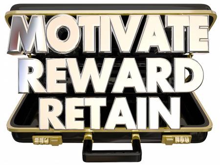 retain: Motivate Reward Retain Employees Keep Customers Workers Briefcase