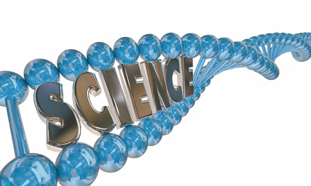 metodo cientifico: Science Word DNA Strand Medical Research Education 3d