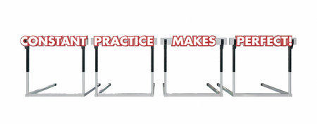 constant: Constant Practice Makes Perfect Jumping Over Hurdles