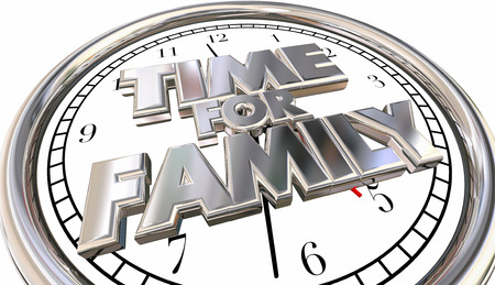 quality time: Time for Family Clock Children Parenting Fun Quality Spending Moments
