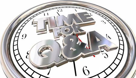comunicarse: Tiempo para preguntas y respuestas Preguntas Respuestas Solicitar información del reloj palabras 3d