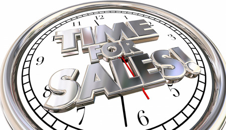 urging: Time for Sales Selling Countdown Deadline Clock Ticking Words