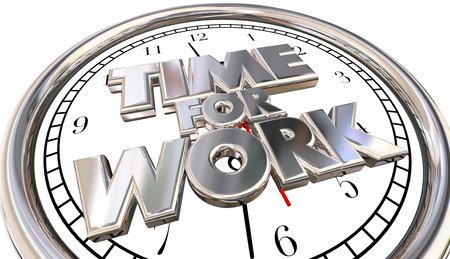 urge: Time for Work Clock Job Career Task Project Pressure Stress Deadline